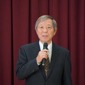 退任増田副区長挨拶