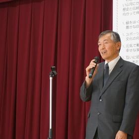 〔開会挨拶〕区長/成瀬 善昭 さん