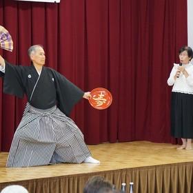 剣詩舞/皿井寛さん、麗子さん