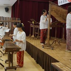 インドネシア楽器演奏/ブンガのみなさん