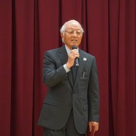 熊田監査・相談役退任挨拶