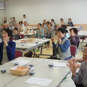 松本さんによるコーディネーショントレーニング
