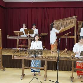 インドネシア民族楽器演奏/ブンガの皆さん