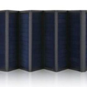 発電:ソーラーパネル