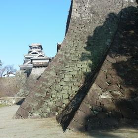 二様の石垣 算木積と穴太積