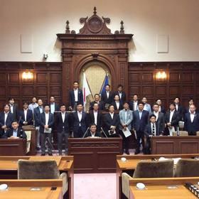 静岡市議会 議場