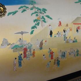 風俗図(対面所 次之間東側戸襖絵)