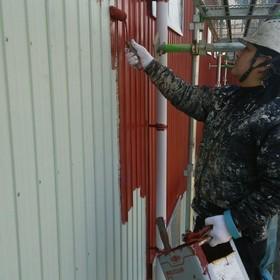 外壁サビ止め塗装