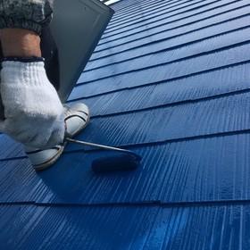 屋根タッチアップ