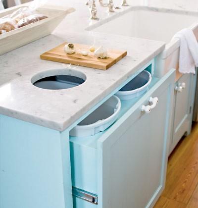 見せる?隠す?キッチンのゴミ箱のアイデア特集 suvaco スバコ