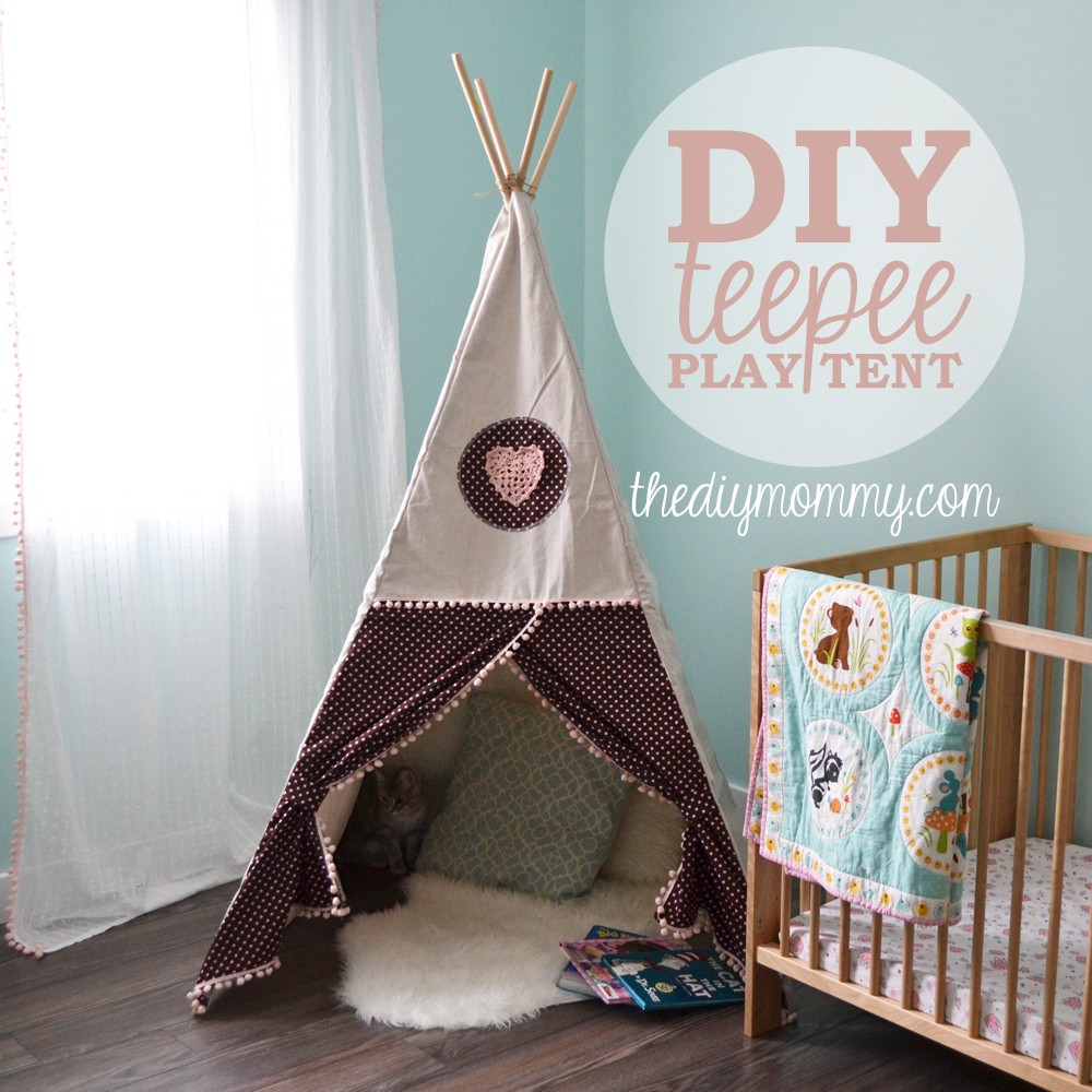 Sew a DIY Teepee Play Tent