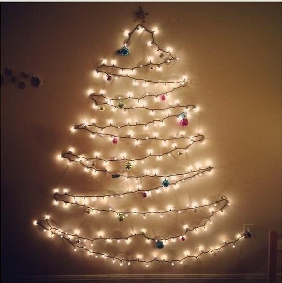 場所がなくても大丈夫!今年は「ウォールツリー」でオシャレにクリスマス♪ Naver まとめ