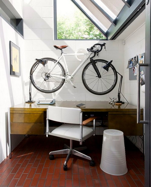 decoist~Creative Bike Storage And Display Ideas Blend Style With Small-Space Solutions