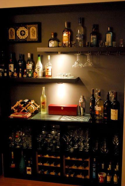 Suvaco for Basement bar setup