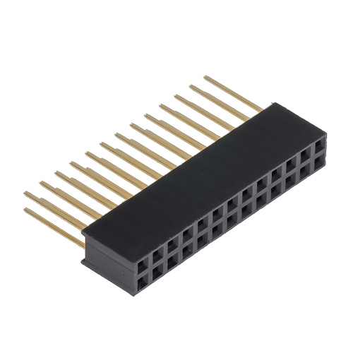 2x13 Female header with extra long legs (for Raspberry Pi)