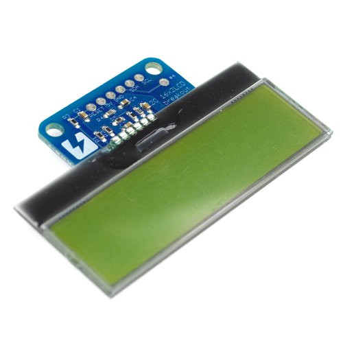 Breakout board for 16x2 character I2C LCD module (horizontal type)
