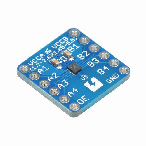 NTB0104 bidirectional level shifter breakout board
