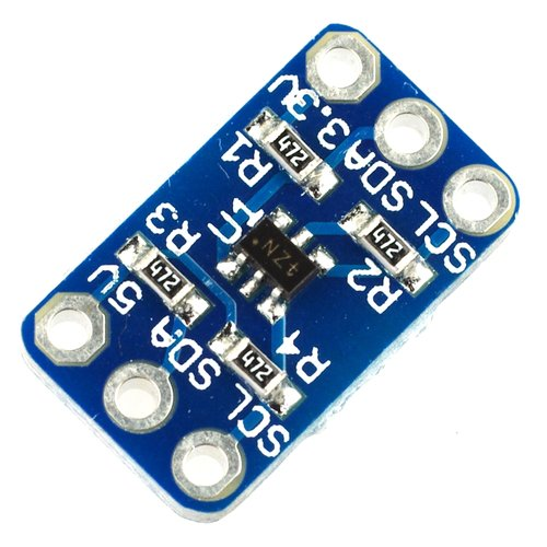 Bidirectional I2C voltage level shifter using FET