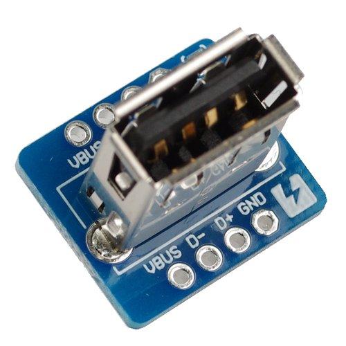USB Type A Female Breakout Vertical