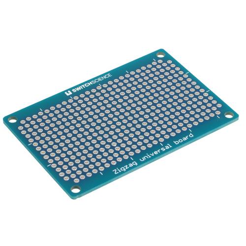Zigzag Universal PCB