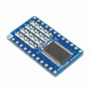 PCA9622DR I2C 16ch LED driver borad with 4x4 LEDs onboard