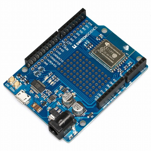 ESPr One(Arduino Uno form-factor)