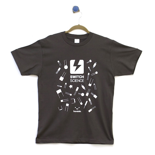 Switch Science x Kuralab collaboration T-shirt