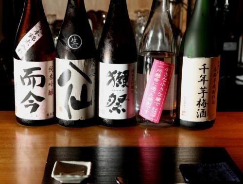 お酒の種類も豊富