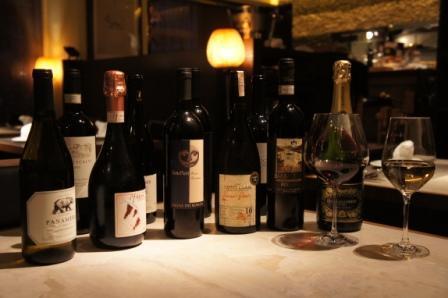 ワインも豊富に!いっぱい覚えられますよ!