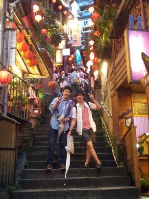 2013年勤続5年の記念旅行は台湾