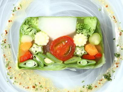 野菜料理にもこだわります