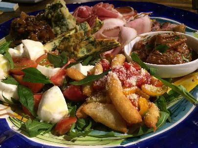 南イタリア風にたっぷり盛りのおまかせ前菜