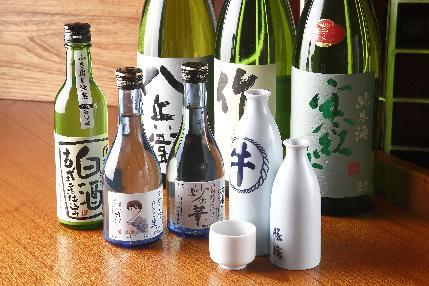 週ごとに変わるこだわりの日本酒