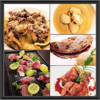 郷土料理や旬の食材を使った料理