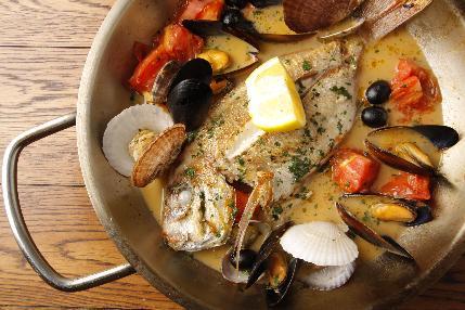 南イタリアの料理の数々