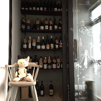 ウォークインセラーにはこだわりのワイン