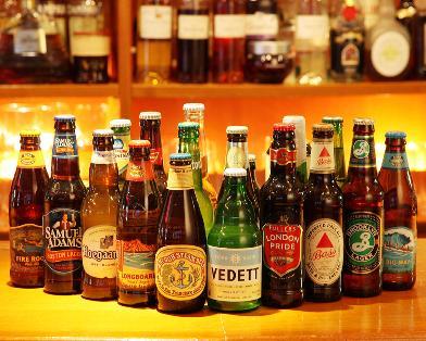 ビールも種類が豊富です