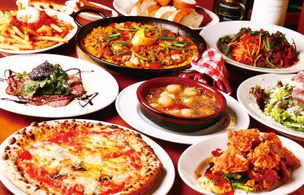 イタリアの宴会料理が大人気!