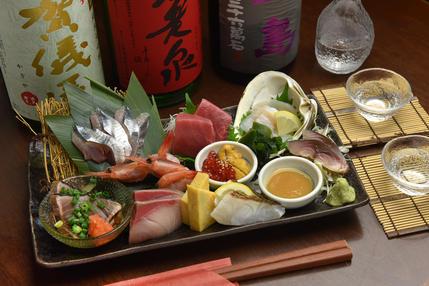 瀬戸内海の鮮魚を使用!