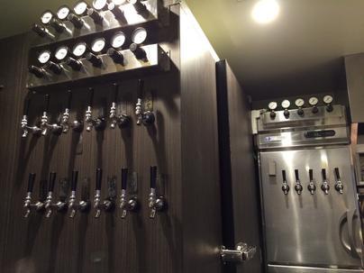 17タップのクラフトビール