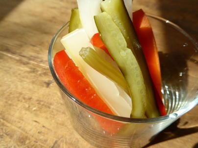 地元産の野菜を使った取り組みもしています