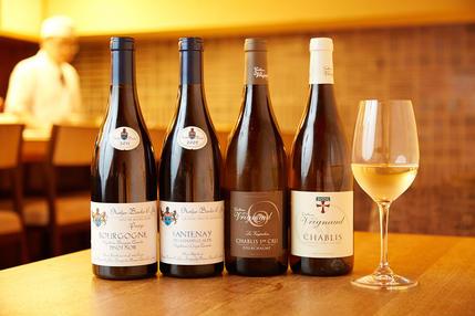 自社輸入している洗練されたワイン