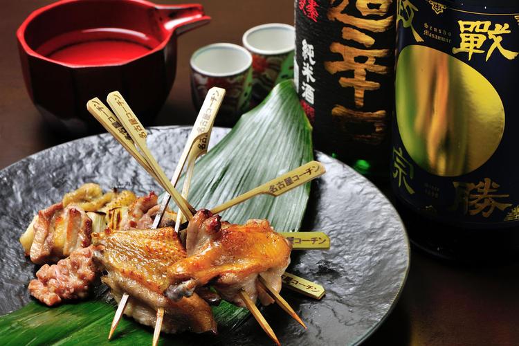 日本三大地鶏 いちおし!名古屋コーチン串