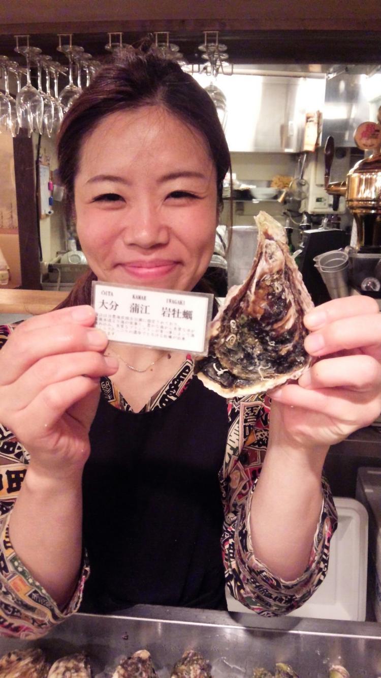 牡蠣が好きなあなたを待ってます!
