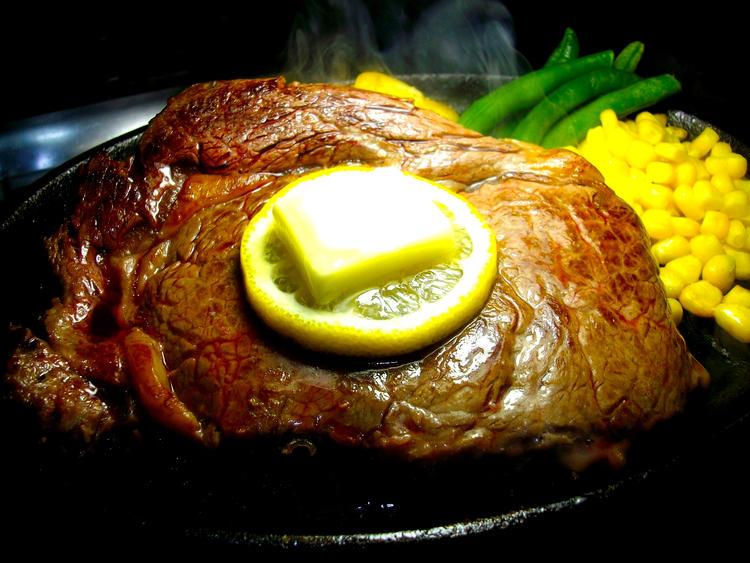 厚切りリブロースステーキ