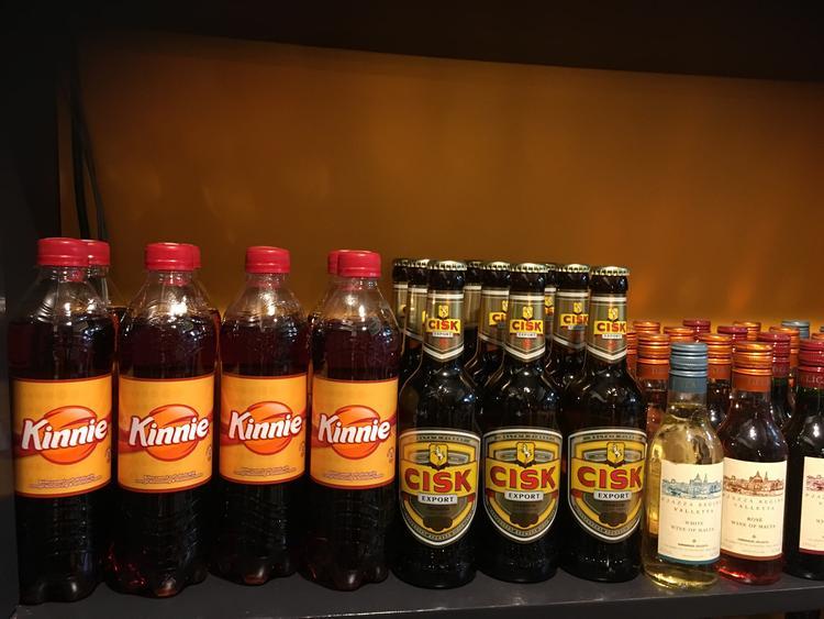 マルタビールやキニージュース