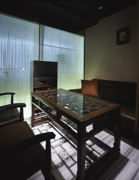 高級感のある個室、TV視聴も出来ます