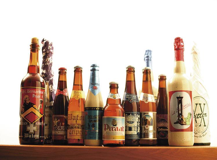 直輸入のアメリカ・ベルギービール