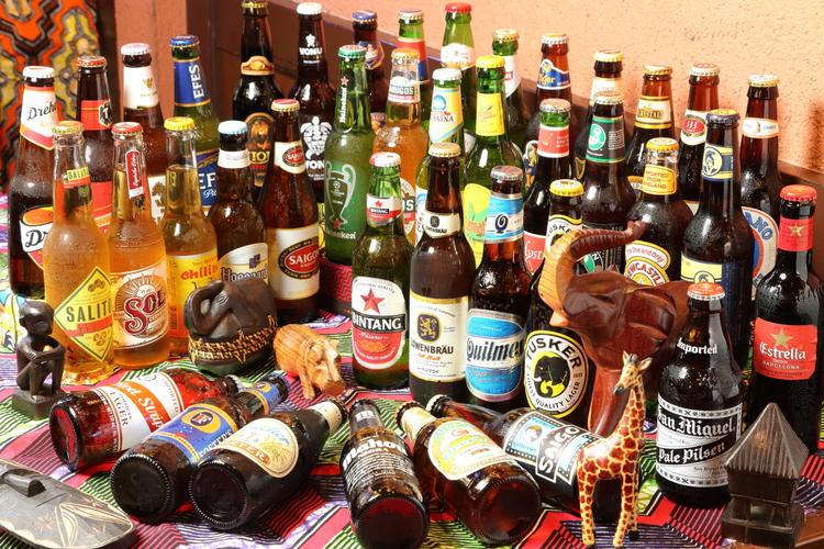 40種類の世界のビール飲み放題が大人気!