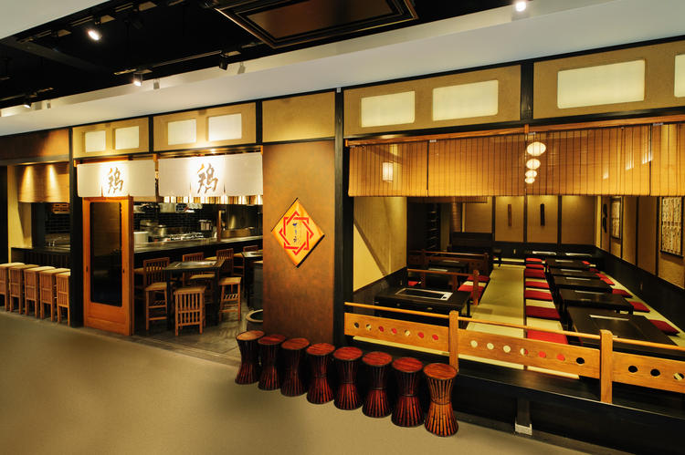 比内地鶏 鉄板焼 かしわ 渋谷ヒカリエ店